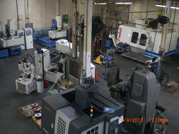 Die Shop following significant capital equipment modernization